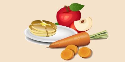 оладки морквяно-яблучні