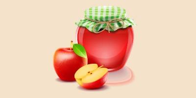 яблучне варення або джем