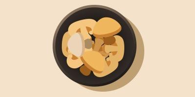 салат або закуска з грибів