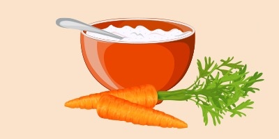 манна каша з морквою