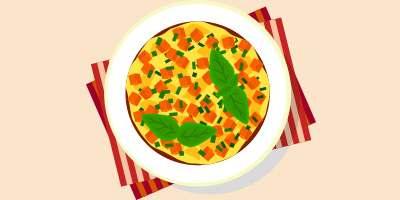 омлет з овочами