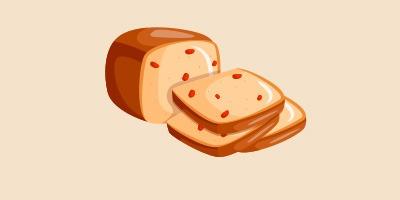 хліб із родзинками