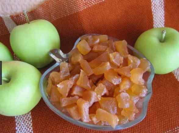 Цукати яблучні