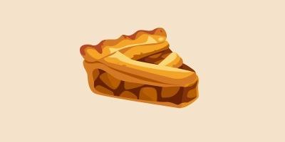 шарлотка з яблуками, яблучний пиріг
