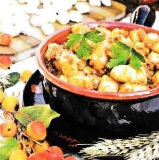 Кльоцки картопляні (ньокі)