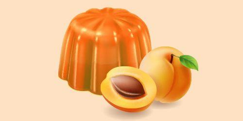 абрикосове желе