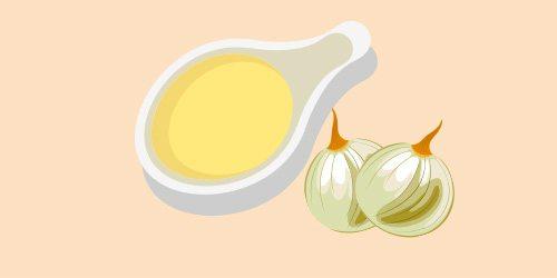 білий соус з цибулею