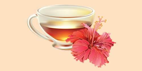 чай з гібіскусу