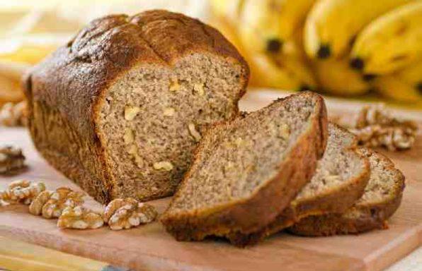 банановий хліб з волоськими горіхами