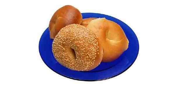 Пампушки американські - пончики з кунжутом
