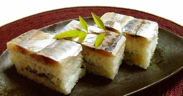 Суші з маринованим оселедцем (хакодзусі або осідзусі)