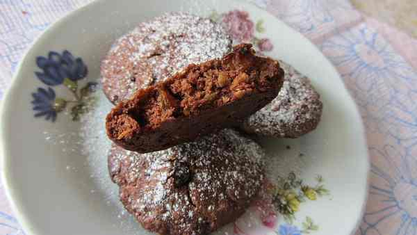 Печиво вівсяне з какао та родзинками