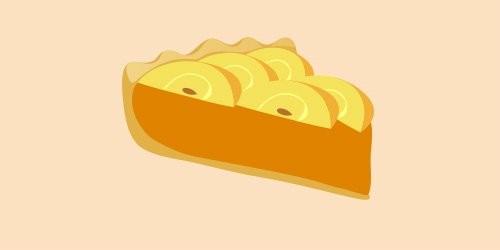 Пиріг з яблуками