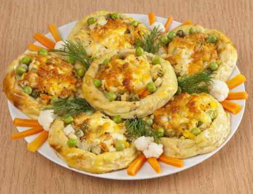 Ватрушка картопляна з овочами