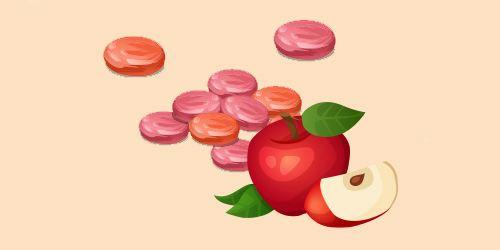 цукерки пастила з яблук