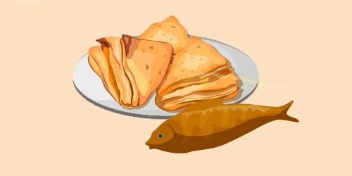 Слойки з рибою