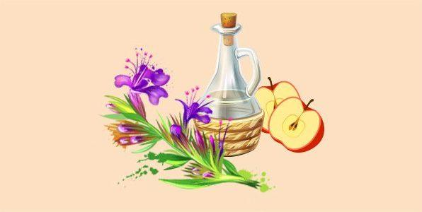 Яблучний оцет з гісопом
