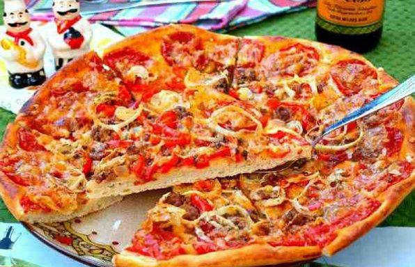 Піца з фаршем