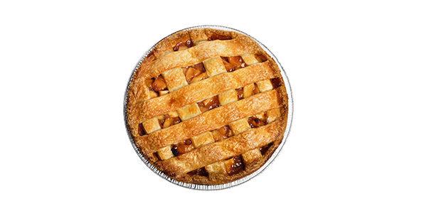 Пиріг з яблуками (з несолодкого тіста)