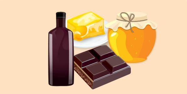 гжанка - алкогольний напій з шоколадом, маслом і медом