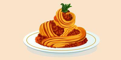 паста або спагеті карбонара