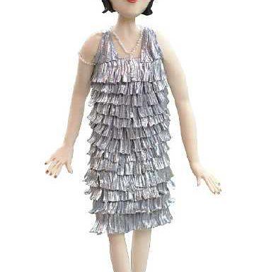 Декор Філіс - дівчина-флепер
