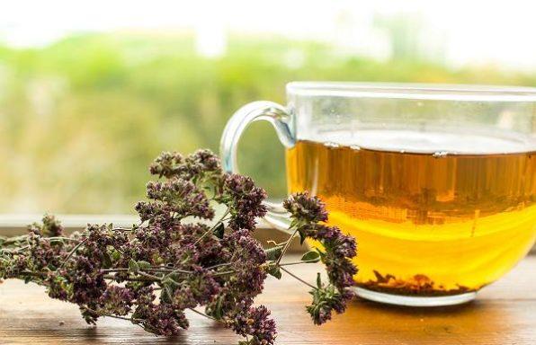 Чай заспокійливий з душиці (материнки) з медом