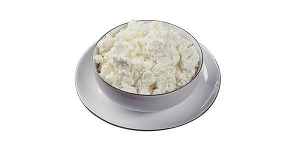 Сир (творог) домашній (заквашений лимонним соком)