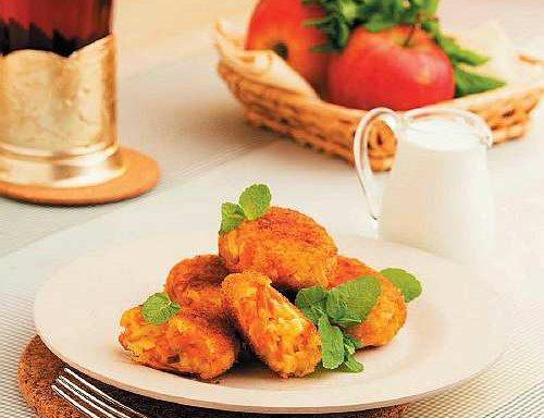 Котлети морквяно-яблучні (з тушкованої моркви)
