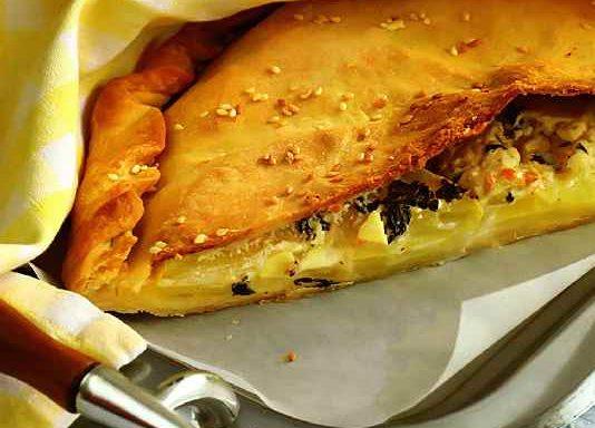 Пиріг з кабачками та картоплею