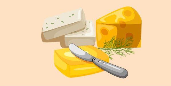 масло, бринза, сир і кріп