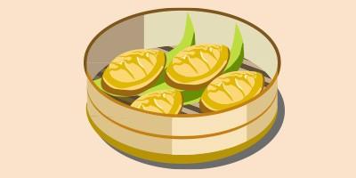 парові китайські пиріжки