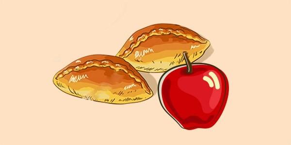 пиріжки з яблуками