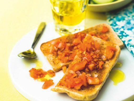 Тостада томатна іспанська