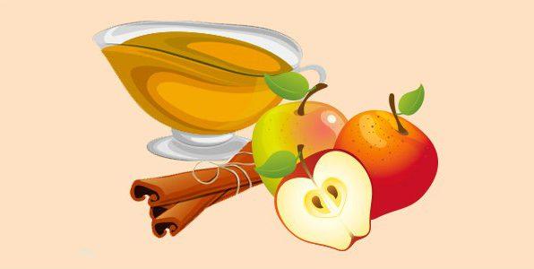 яблучний соус з корицею