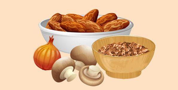 Котлети з гречки, грибів і цибулі