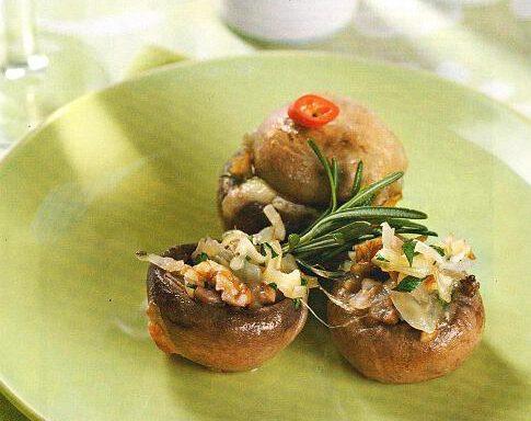 Тарталетки з грибів