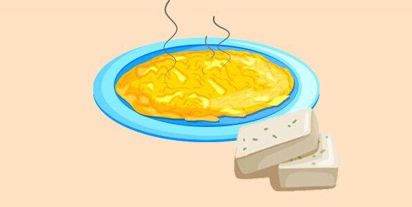 омлет з бринзою