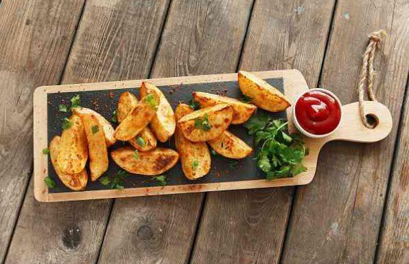 Картопля фрі з духовки
