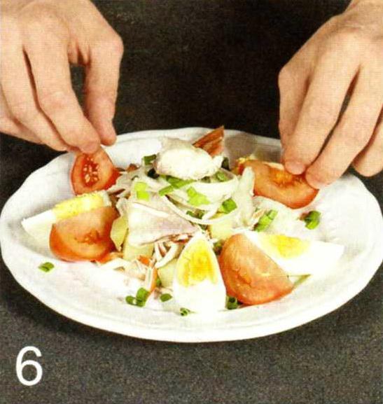 Салат рибний бретонський