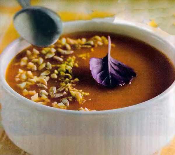 Суп-пюре з овочів (з морквою, ріпою та цибулею)