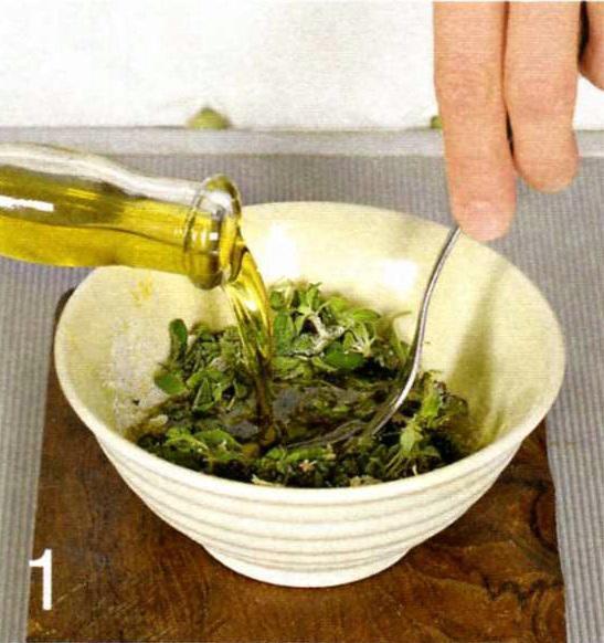 Маринад для барбекю солодкий з травами