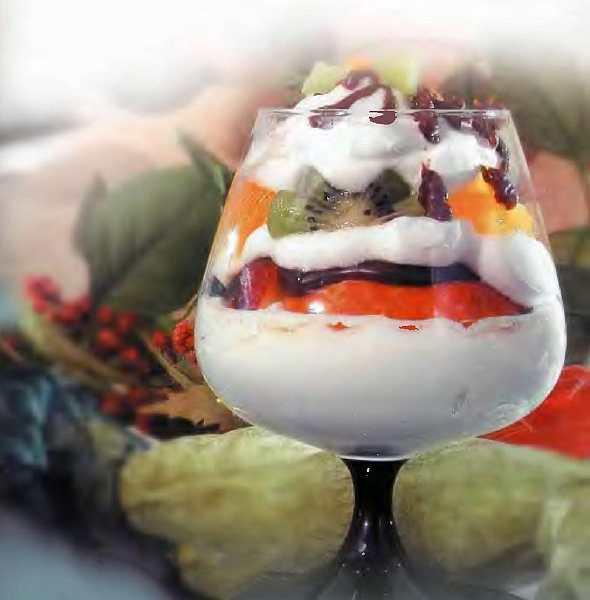 Десерт «Романтика»